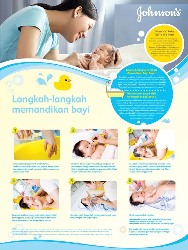 Morning Communications Johnson S Baby Poster